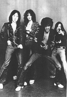 "Thin Lizzy! ""Spread the word around. Guess, who's back in town."""