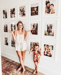 Foto-Inspiration, - Wohnaccessoires - The 2019 Decorating Trends - Diy Bedroom Decor, Diy Home Decor, Wall Art Bedroom, Ikea Boys Bedroom, Bedroom Benches, Mirror Bedroom, Master Bedroom, Family Pictures On Wall, Display Family Photos