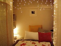 small bedroom ideas... lighting is the key. Also, the link doesn't work but the pic is nice :)