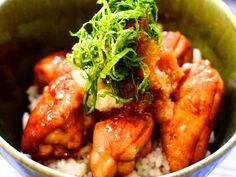 鶏の照り焼きおろし丼の画像