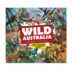 Great book for the kids as they Travel Australia!  Learning about Australian Animals as they go.