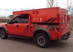 Phoenix Campers Builds Custom Camper for Ford F-150 SVT Raptor