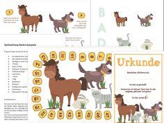 Tolles Kinderspiel zum Download mit Tiermotiven Birthday Games, Games For Kids, Kids Playing, Olympics, Have Fun, Indoor, Children, Animals, Blog