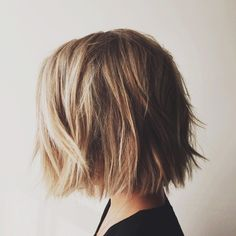 choppy bob hair cut