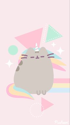 Cute Kawaii Girl, Cute Kawaii Animals, Kawaii Art, Kawaii Anime Girl, Gato Pusheen, Pusheen Love, Cute Kawaii Drawings, Cute Animal Drawings, Disney Drawings