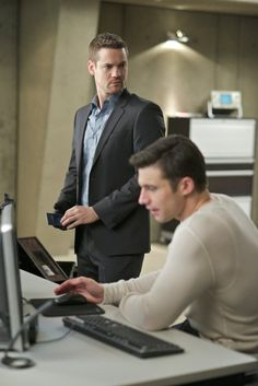 Shane West and Dillon Casey in Nikita