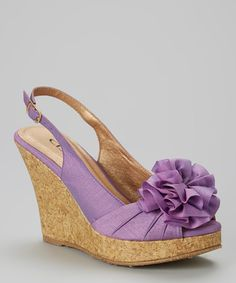 Loving this CL by Laundry Orchid Ilena Wedge on #zulily! #zulilyfinds