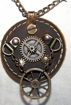 Steampunk nyaklánc 5. Steampunk, Pocket Watch, Accessories, Pocket Watches, Steam Punk, Ornament