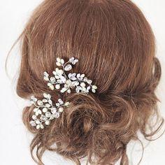Bridal Hair Pins. Wedding Hair Pins. Pearl Hair by SvetloDesign