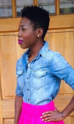 Twa natural hair tapered cut _ beauty and class! Tapered Natural Hair Cut, Tapered Twa, Natural Hair Journey Tips, Short Natural Styles, Natural Hair Transitioning, Sassy Hair, Queen Hair, Big Chop, Natural Hair Inspiration
