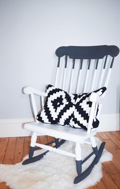 An Update for a Very Special Rocker - Diy furniture for teens