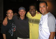 Nils Lofgren (The E. Street Band) with Billy Preston and friends.