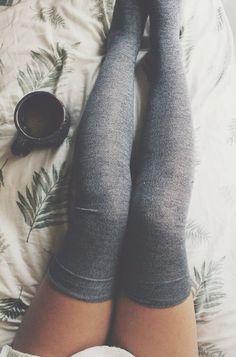 thigh-high socks i want!!!! ... :)