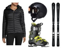 Ski black by gyongyi-fulop on Polyvore featuring polyvore, fashion, style, Spyder and clothing