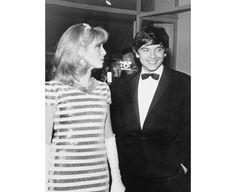 Catherine Deneuve et David Bailey -  Cannes, 1966.
