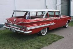 Image result for 1960 chevy nomad station wagon