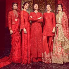 Beautiful Indian Red Ethnic Wear :)