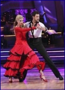 Maksim Chmerkovskiy & Erin Andrews  -Dancing With the Stars  -  season 10  -  spring 2010  -  this couple placed 3rd for the season