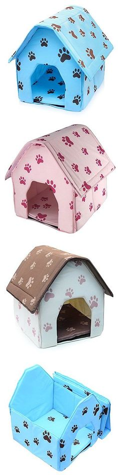 Dog Houses 108884: Dog Cat House, Petforu Portable Collapsible Luxury Indoor Outdoor Dog Cat House -> BUY IT NOW ONLY: $34.05 on eBay!