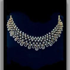 Bridal diamond chocker