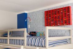 Pin de NaToca.com.br Kids Bedroom Boys, Kids Boys, Inspiration For Kids, Room Decor, Children, Furniture, Infant Room, Baby Room Girls, Teen