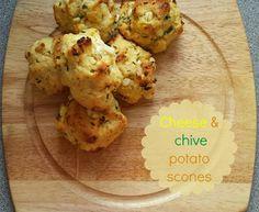 Recipe - Cheese & chive potato scones (#SlimmingWorld friendly)