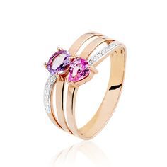 Or Rose, Engagement Rings, Jewelry, Bijoux, Enagement Rings, Wedding Rings, Jewlery, Schmuck, Pave Engagement Rings