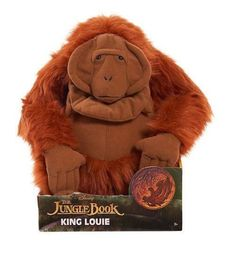 Disney The Jungle Book Deluxe 12 inch Stuffed Figure - King Louie All Toys, Toys R Us, King Louie, Kids Store, Learning Games, Action Figures, Teddy Bear, Dolls, Cool Stuff