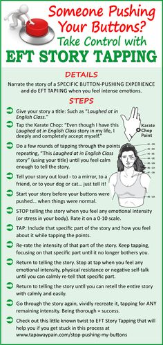 Learn more secrets of EFT Story Tapping