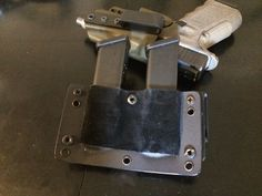 Dual Glock mag inside the waistband (IWB) Kydex, Holsters, Tactical Gear