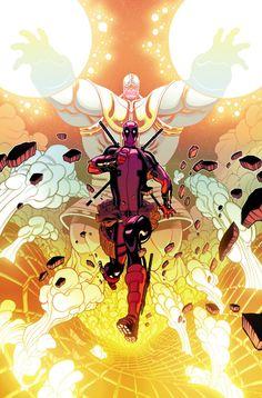 Marvel anuncia Deadpool vs Thanos #1