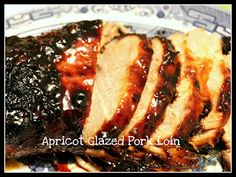 Slow Cooker Apricot Glazed Pork Loin