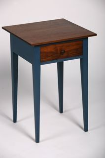 Shaker Nightstand by Erin Hanley, a member of the Guild of Vermont Furniture Makers.