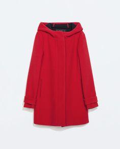 Image 6 of WOOL DUFFLE COAT from Zara