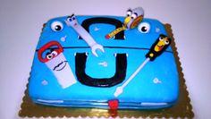 #tortacassettaattrezzi #torta #cake #toolboxcake #toolbox #nutella #cremachantilly #chantilly #attrezzi #cacciavite #sega #chiodi #metro #chiaveinglese #tools #screwdriver #saw #nails #wrench #box #dad #daddy #bday #birthday