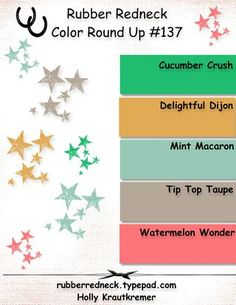 CRU #137 New Color Round Up Challenge 6/4/15