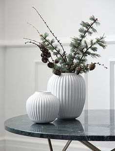 Kähler Design Hammershøi Vasen|elbdal.de|Skandinavische Wohnaccessoires