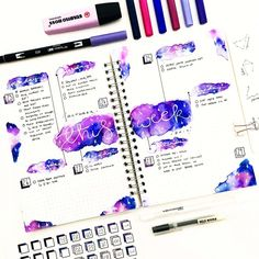 Bujo Beautifully: How to Get the Effect of Watercolor with Markers