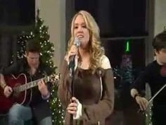 ▶ Carrie Underwood - Have Yourself A Merry Little Christmas. I just want to slip sweet little Carrie Underwood into my pocket and bring her home for Christmas. Her husband would kick my ass though. :)
