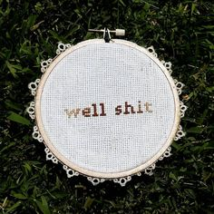 Subversive Cross Stitch Well / by CrossStitchYERHeart on Etsy