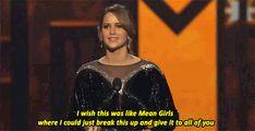 Jennifer Lawrence's Acceptance Speech xD love ❤
