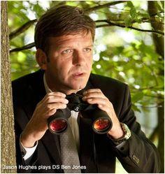 Jason Hughes as Ben Jones in 'Midsomer Murders' Ben Jones, Midsomer Murders, Bbc Drama, Miss Marple, Bbc Tv, Film School, Mystery Series, Murder Mysteries, Film Serie