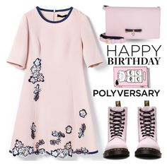"""""""Celebrate Our 10th Polyversary!"""" by shoaleh-nia ❤ liked on Polyvore featuring Dr. Martens and MCM"""
