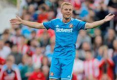 Sebastian Larsson of Sunderland Fc during the preseason friendly...
