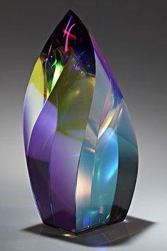 Sarsus. Optical lead crystal dichroic lamination.