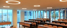 Headquarter Agenzia marittima LE NAVI MSC Towers - Genova - Italy Castaldi Lighting