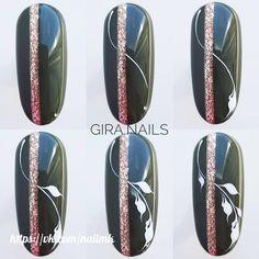 Winter Nails Designs - My Cool Nail Designs Manicure Steps, Nail Manicure, Christmas Nail Designs, Christmas Nail Art, Trendy Nail Art, Cool Nail Art, Love Nails, Fun Nails, Nail Noel