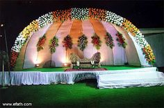 Wedding Stages & Mandap Decoration Ideas
