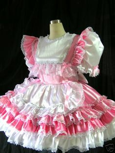 MISTRESS LADY PENELOPE ADULT CUSTOM MADE UNIFORMS AND SISSY DRESSES 07970183024