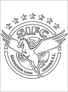 korea coloring page south korean professional football club based in seongnam south korea
